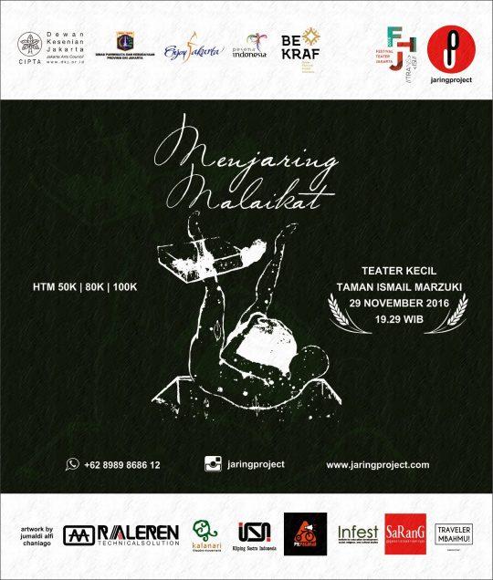 Menjaring Malaikat di FTJ TIM Jakarta