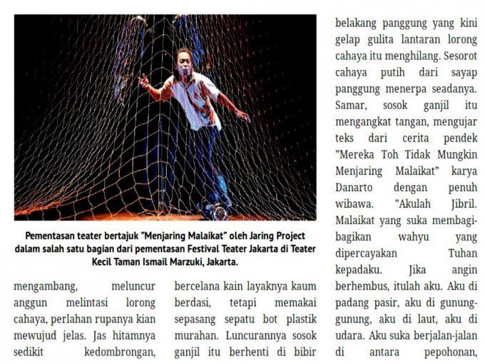 Menjaring Malaikat Jakarta | Jibril ala Jamaluddin Latif