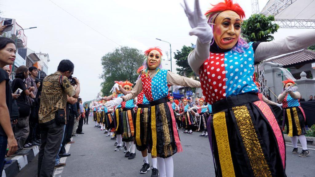 Imbarmakbyarr Pembukaan Festival Kesenian Yogyakarta