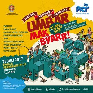 Umbar Mak Byar - Festival Kesenian Yogyakarta 2017