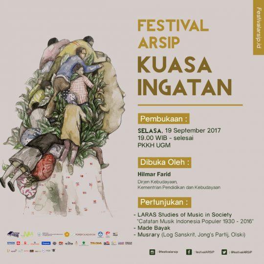 Edukasi Publik: Kenapa Harus Fest!sip Festival Arsip Kuasa Ingatan